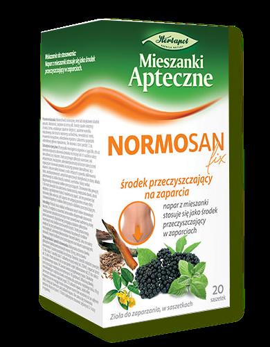 NORMOSAN Fix 20x1,4g HERBAPOL Lublin