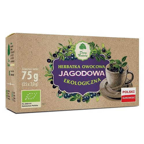 Herbata JAGODOWA eko 25x3g DARY NATURY