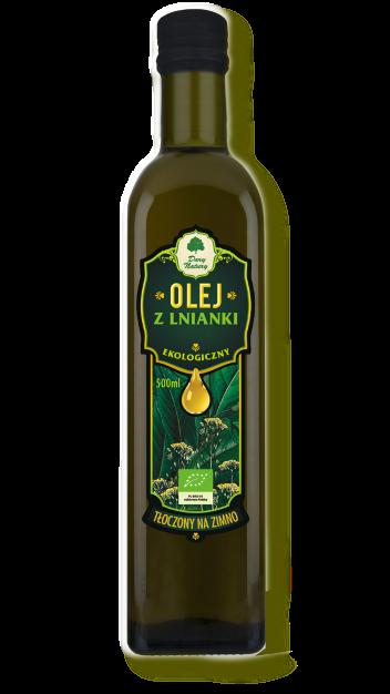 Olej z LNIANKI eko 0,5l D.NATURY