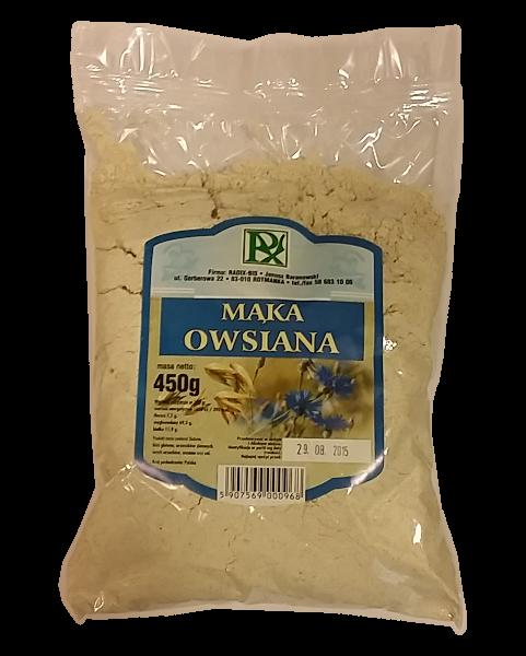 Mąka OWSIANA 450g RADIX-bis