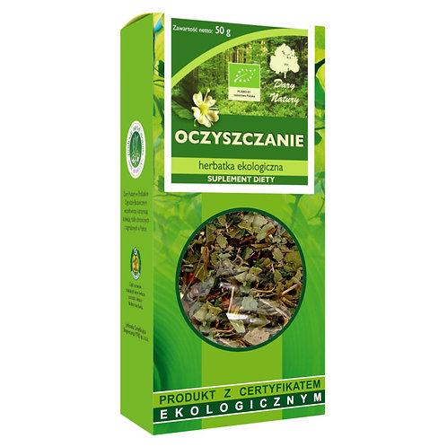Herbatka Oczyszczanie EKO 50g DARY NATURY