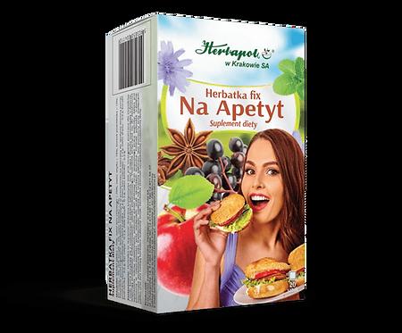 NA APETYT herbatka fix 20x2g  HERBAPOL Kraków