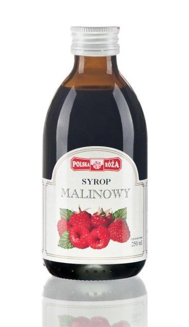 Syrop MALINOWY 250ml Polska RÓŻA