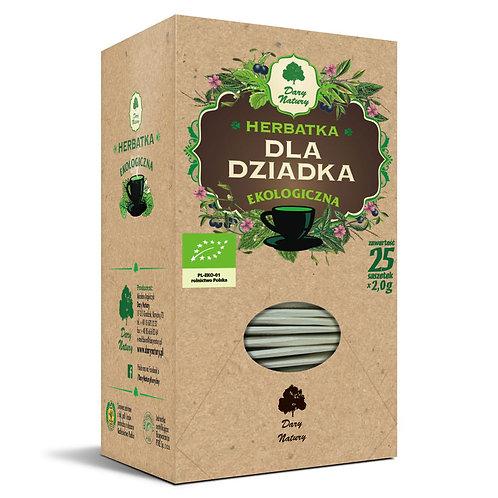 Herbatka dla DZIADKA eko 25x2g Dary NATURY