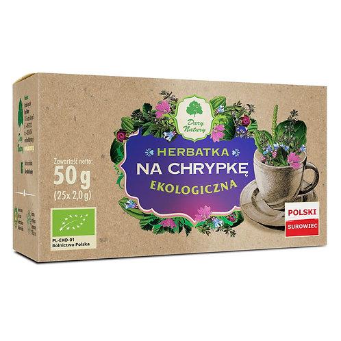 Herbata na CHRYPKĘ eko 20x2g DARY NATURY