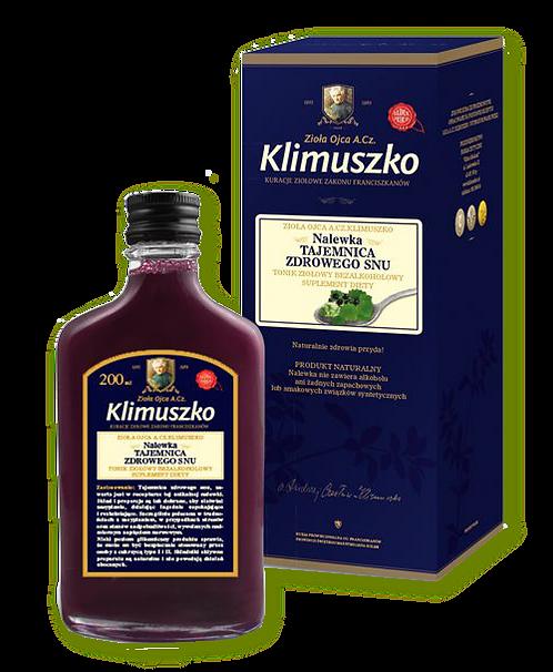 Klimuszko Nalewka wspierająca wyciszenie i prawidłowy sen 200ml