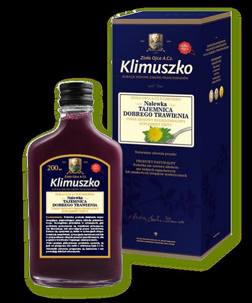 Klimuszko Nalewka wspierająca prawidłowe trawienie 200ml