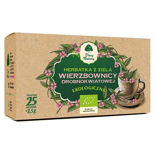 Herbata z ziela WIERZBOWNICY EKO 25x2g Dary Natury