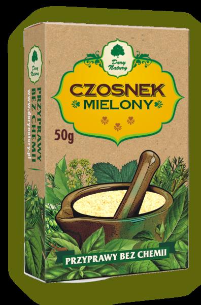 Czosnek Mielony 50g DARY NATURY