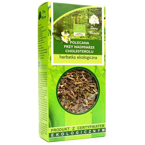 Herbatka polecana przy nadmiernym cholesterolu eko 50g DARY NATURY