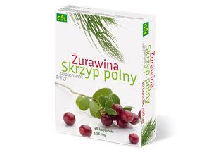 Żurawina + Skrzyp Polny x 48 kaps. GAL