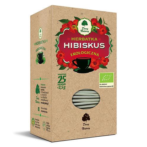 HIBISKUS eko 25x2,5g Dary NATURY