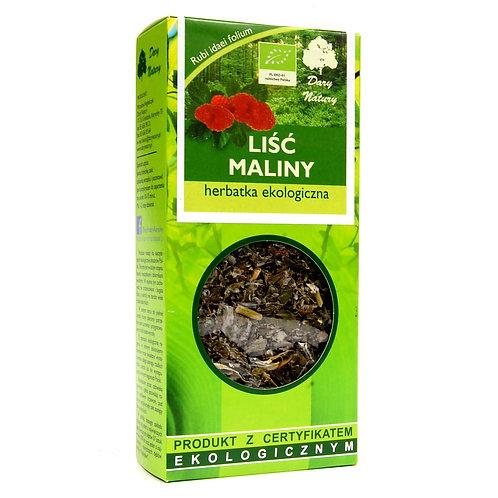 MALINA Liść eko 25g DARY NATURY