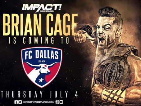 IMPACT Wrestling Partners with Major League Soccer (MLS) Team FC Dallas