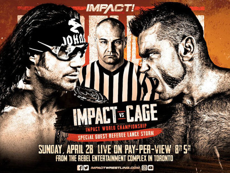 IMPACT Wrestling Presents Rebellion from Toronto Live this Sunday, April 28 on Pay-Per-View, FITE.tv