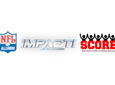 IMPACT Wrestling, NFL Dallas Alumni Association, HELP Consulting, Inc. and The SCORE Program Team Up