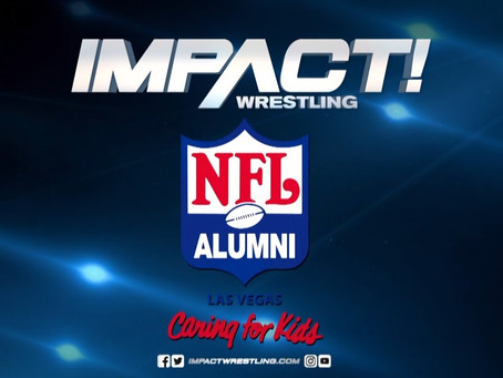 IMPACT Wrestling Announces Feb. 15 Press Conference with NFL Alumni, Las Vegas Chapter