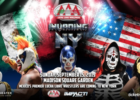 IMPACT Wrestling to Promote Event at Hulu Theater in Madison Square Garden in Collaboration with AAA