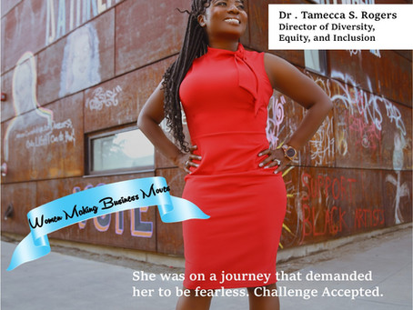 Dr. Tamecca Rogers-Business Woman of Inspiration