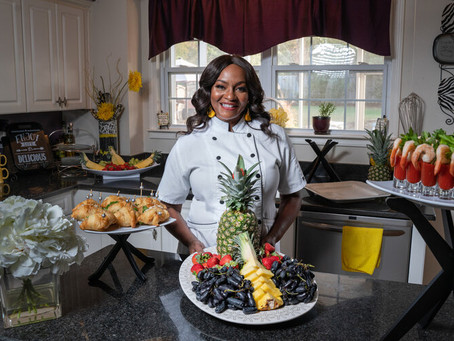 Pammy Mills Founder & CEO of Mizzazz Catering