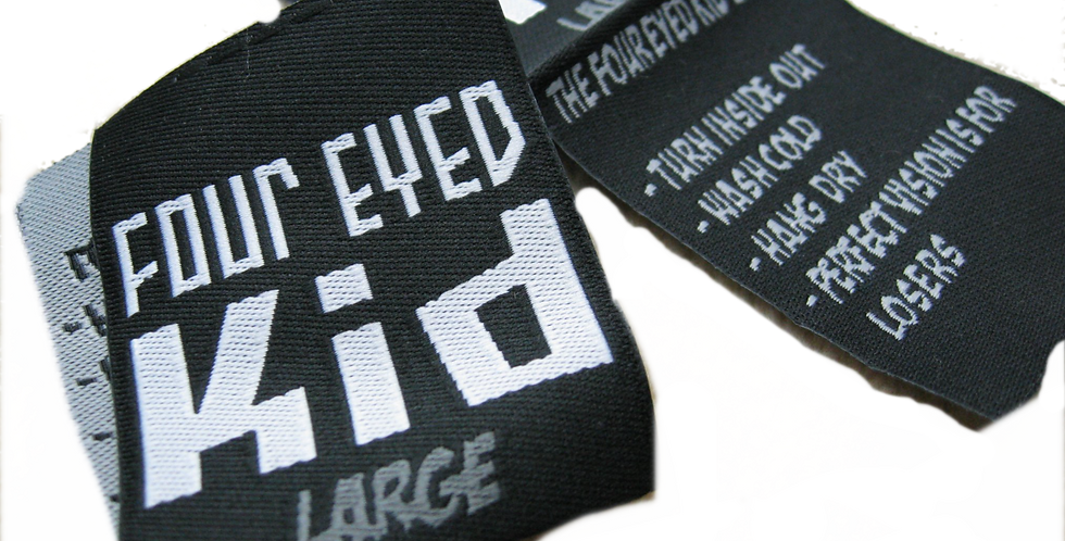 100 WOVEN LABELS