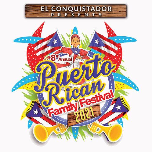 PUERTO RICAN FAMILY FESTIVAL 2021 T-SHIRT