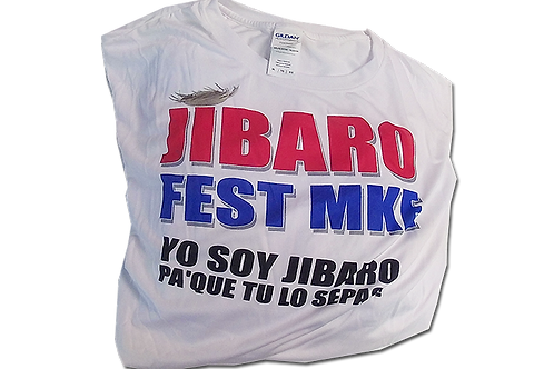 Jibaro Fest MKE T-shirt