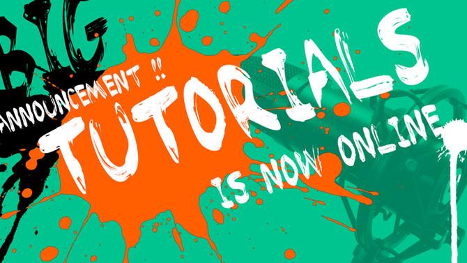 The Evan Lee tutorials is NOW ONLINE!!