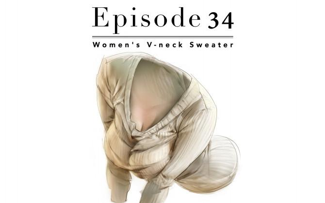 Episode 34-Women's V-neck Sweater