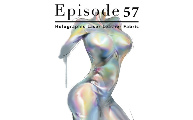 Episode 57-Holographic Laser Leather Fabric