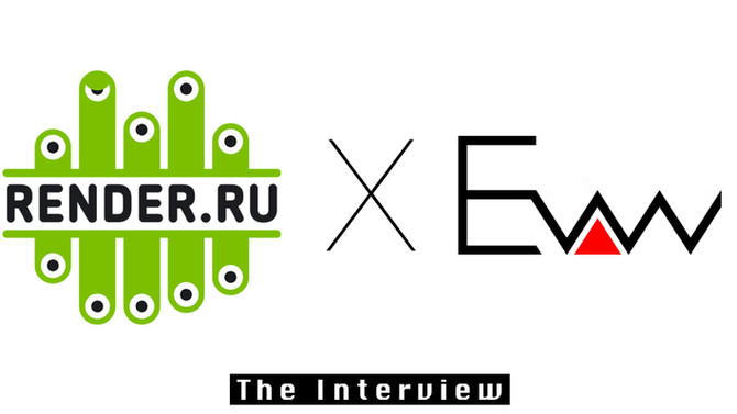 The interview with RENDER.RU