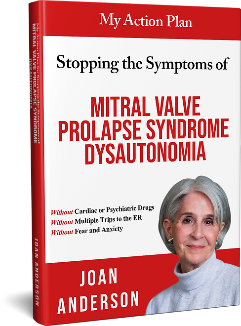 3D Book My Action Plan for Stopping the Symptoms of MVPS-Dysautonomiaxxx!!!book cover good