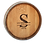 Thumbnail: Personalized Wine Barrel Lazy Susan