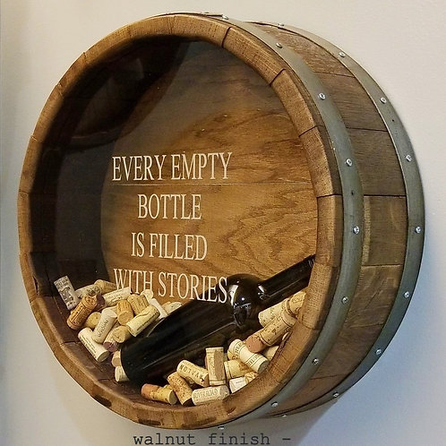 Wine Cork Wall Display