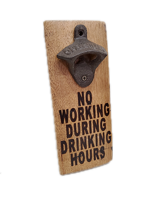 Bottle Opener - Drinking Hours