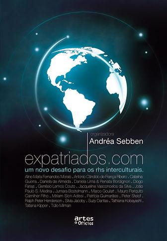 Livro Expatriados.com de Andrea Sebben