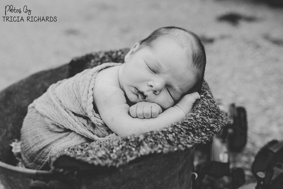 A beautiful newborn session