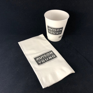 Cups, napkins