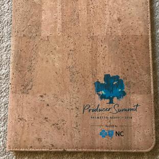 Custom Cork Padfolio