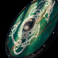 Frozen Wolf Shield