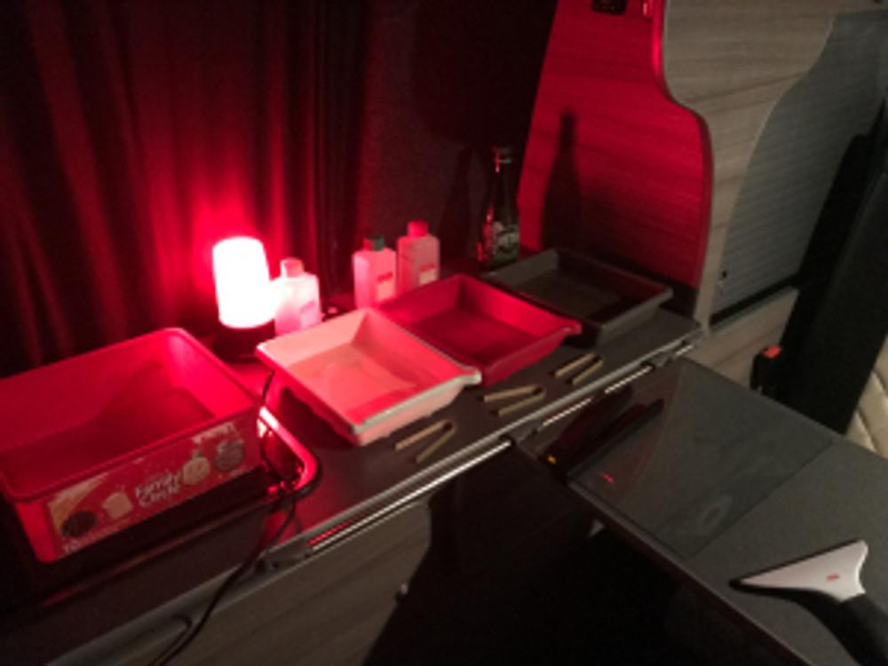 VW Camper Darkroom (1 of 2)