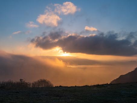 Orange Sunrise battle over Axbridge