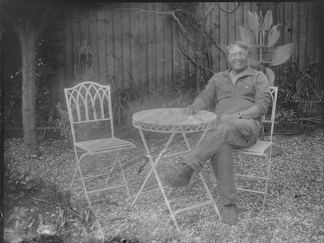 Glass dry plate – poured emulsion