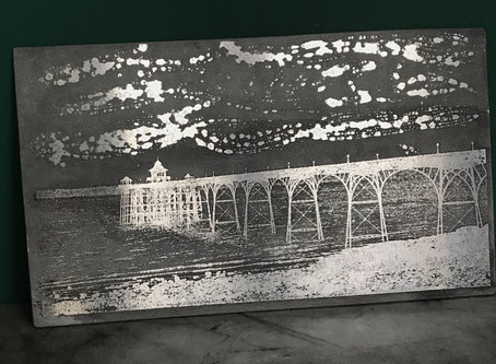 Latest etching – still learning …
