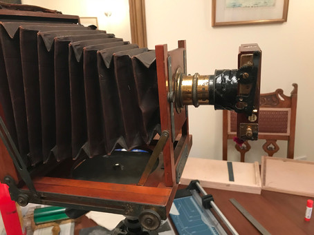 Adding a shutter to my antique camera