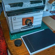 Cardboard box camera