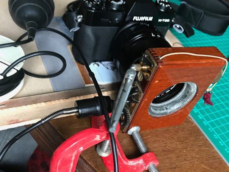 How to measure the speed of my antique shutter