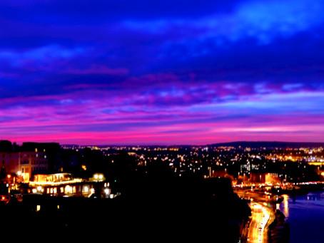 Dawn over Bristol