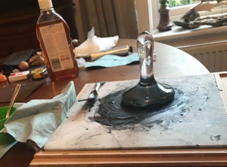 Productive day #printmaking