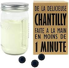 Shaker chantilly